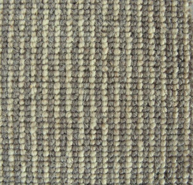Weddell 100 Wool Loop Striped Carpet